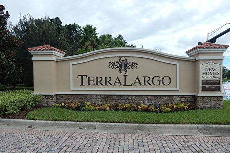 New Homes Representation in Terra Largo Subdivision Lakeland, Florida 33810