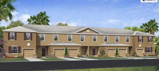 Copper Creek GibsontonFlorida New Town Homes Community