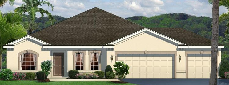 Lucaya Lake Club Riveview Florida Move-In Ready New Homes