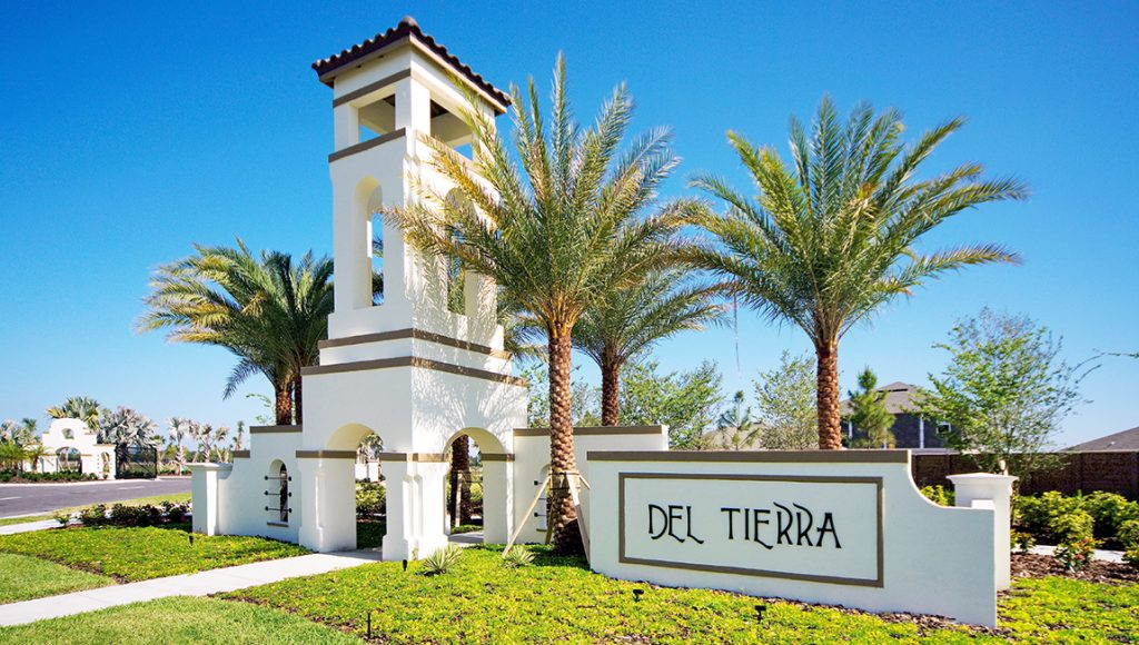 Del Tierra Subdivision Brdenton Florida New Homes Community