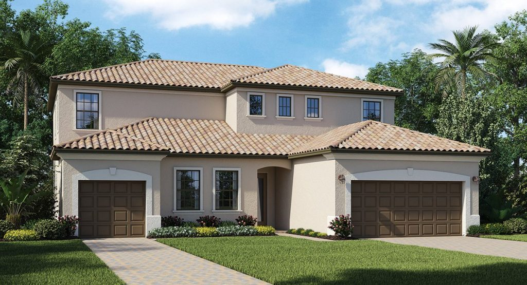 Lakewood-Ranch/Manor-Homes The Oxford 3,828 sq. ft. 6 Bedrooms 4.5 Bathrooms 1 Half bathroom 3 Car Garage 2 Stories