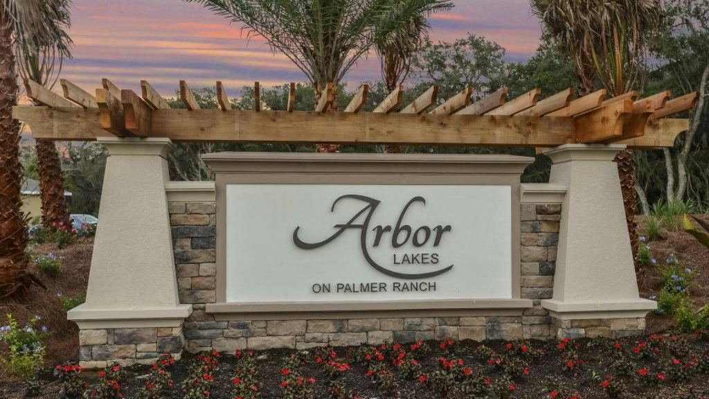 Arbor Lakes Sarasota New Homes Community