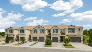 Jackson Square Tampa Florida New Town Homes Community