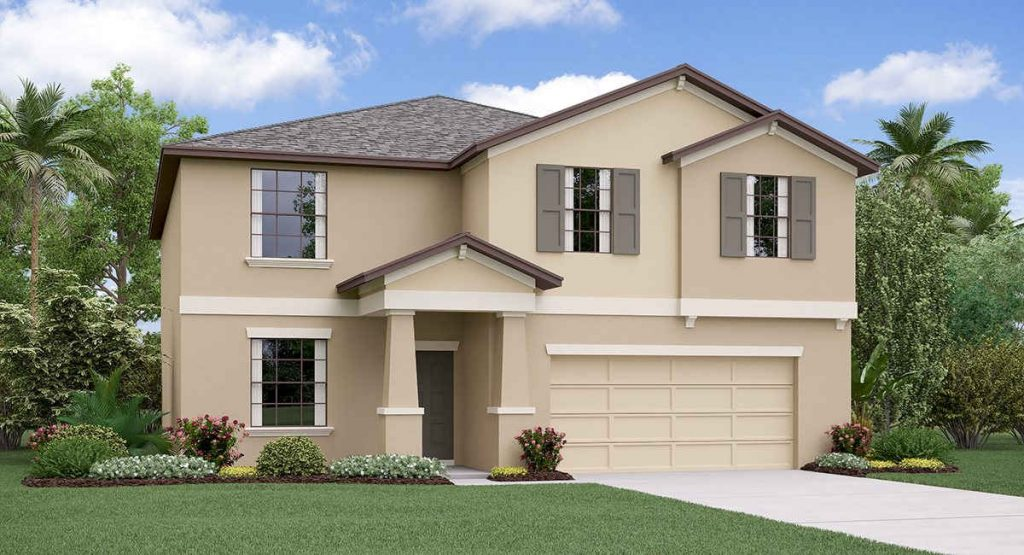 Twin Creeks: The Richmond Lennar Homes Riverview Florida New Homes Community