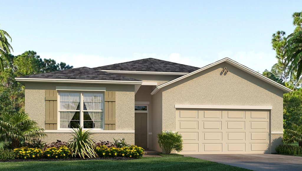 Southshore Bay The Granville 2,209 square feet 5 bed, 3 bath, 2 car, 1 story Wimauma Florida