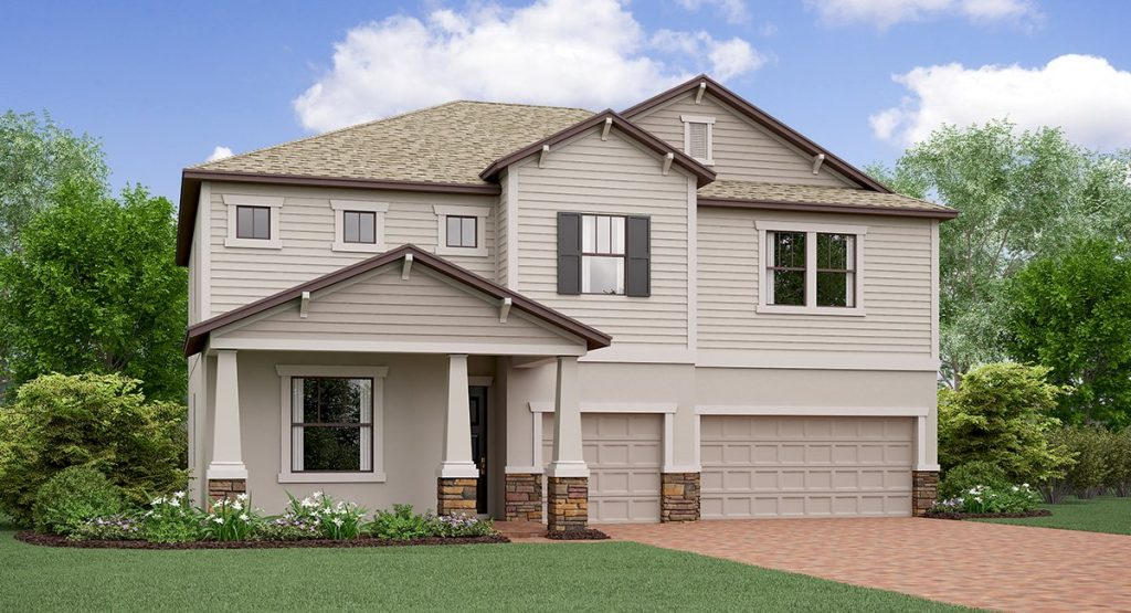 T​riple Creek​: The Nebraska​ ​Lennar Homes Riverview Florida New Homes Community