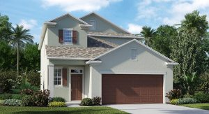 The Winthrop Model  Tour Lennar Homes Tampa Florida