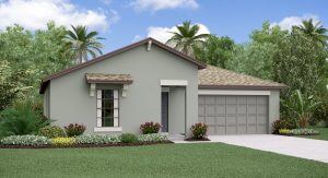 The Dover Model Tour Lennar Homes Touchstone Tampa Florida