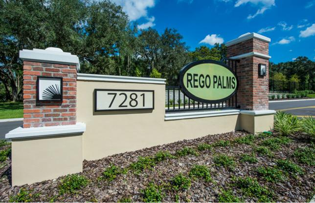 Rego Palms New Town Home Community Tampa Florida