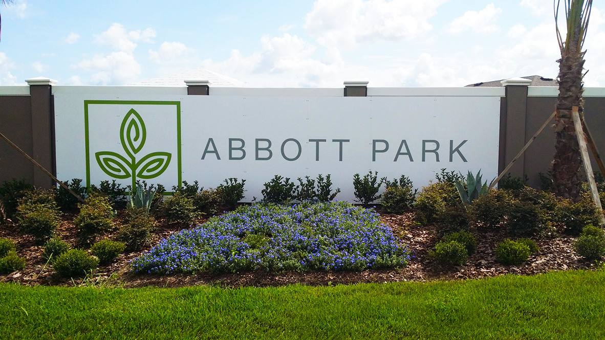 Abbott Park New Home Community Zephyrhills Florida