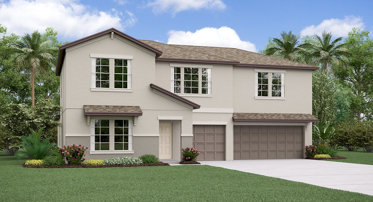 The Cheyenne Model Tour Spencer Creek Lennar Homes Ruskin Florida