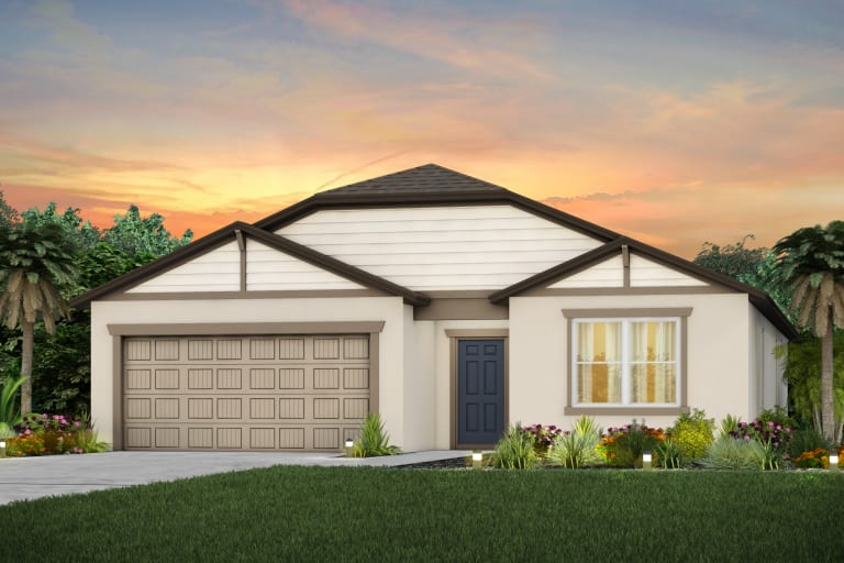The Seabrook  Model Tour North River Ranch Centex Homes Parrish Florida
